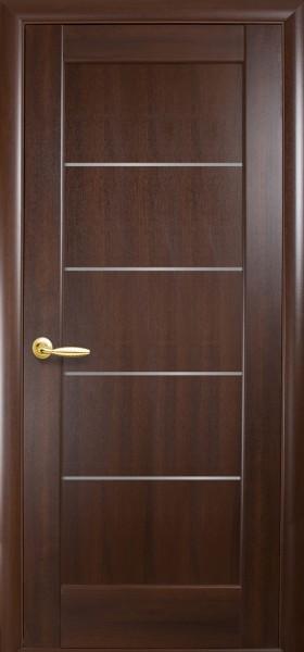 Дверное полотно, покрытое ПВХ пленкой Ностра Мирра