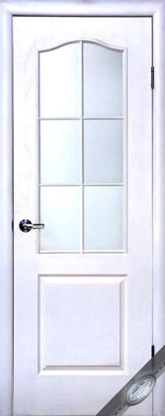 Дверное полотно со стеклом Симпли В