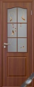 """Дверное полотно""""ФОРТИС Р"""" В (классика), """"ТМ Новый стиль"""" цвет:орех, вишня, ольха"""