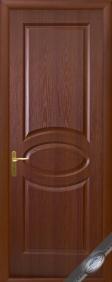 """Дверное полотно""""ФОРТИС& quot; R (овал), """"ТМ Новый стиль"""" цвет:орех, вишня, белая, ольха"""