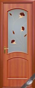 """Дверное полотно""""Интера P"""" Аve(Аве) P1, """"ТМ Новый стиль"""" цвет:орех, вишня"""