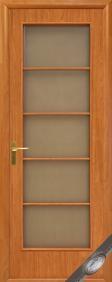 """Дверное полотно""""КВАДРА& quot; D (Дама), """"ТМ Новый стиль"""" цвет:венге, орех, ольха, дуб, вишня"""