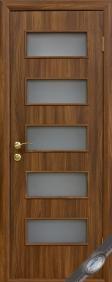 """Дверное полотно""""КВАДРА& quot; D (Дама), """"ТМ Новый стиль"""" цвет:венге, орех, ольха, акация, дуб, вишня"""