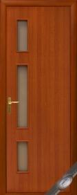 """Дверное полотно""""КВАДРА& quot; G (Герда), """"ТМ Новый стиль"""" цвет:вишня, ольха"""