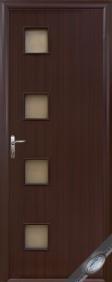 """Дверное полотно""""КВАДРА& quot; M (Модена), """"ТМ Новый стиль"""" цвет:венге, вишня, орех, ольха"""