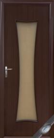 """Дверное полотно""""МОДЕРН& quot; T(Часы), """"ТМ Новый стиль"""" цвет:орех, вишня, ольха"""
