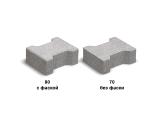 Фото  1 Двойное Т без фаски (цвет на сером цементе) 7 см 1941775