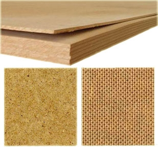 ДВП (древесноволокнистая плита) шлифованная 2440 х 1220 х 2,5 мм