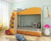 Двухъярусная детская кровать Жираф