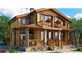 Фото 1 Двухэтажний дом из профилированного бруса 9х9 м 335571