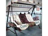 Фото 1 Садові гойдалки Техас Люкс з довічною гарантією якості в Україні 337769