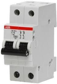 Фото  1 Автоматический выключатель ABB 2p, 10A, C, SH202-C10 2079333