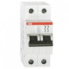 Фото  1 Автоматический выключатель ABB 2p, 50A, B, SH202-B50 2079329