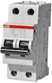 Фото  1 Автоматический выключатель ABB 2p, 1A, C, SH202-C1 2079331