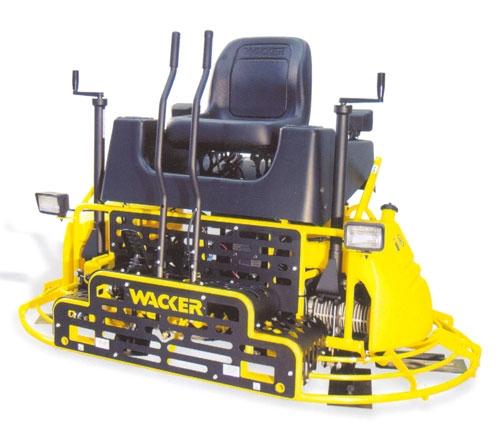 Двухроторная затирочная машина CRT 36-25-WK. Диаметр диска, мм 915; Мощность двигателя, кВт 18,5; Рабочий вес, кг 376