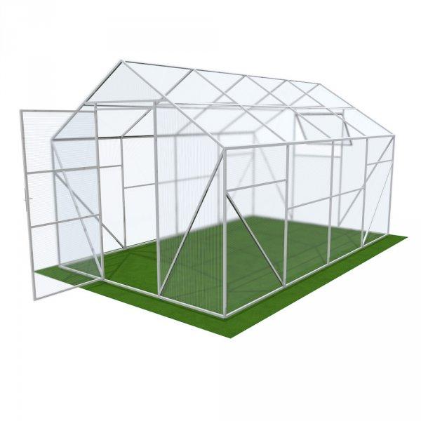 Двускатная теплица 4мм Solidprof 4.1x3x2.5м Стандарт