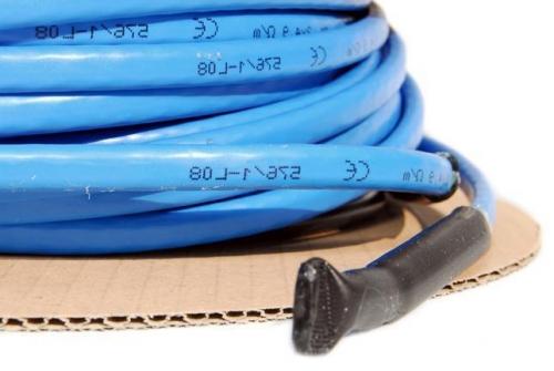 Двуж. нагрев. секция EM4-CW , 172 m, 25 W/m, 380-400Вольт, с 4-х м каб. пит. ,4300W