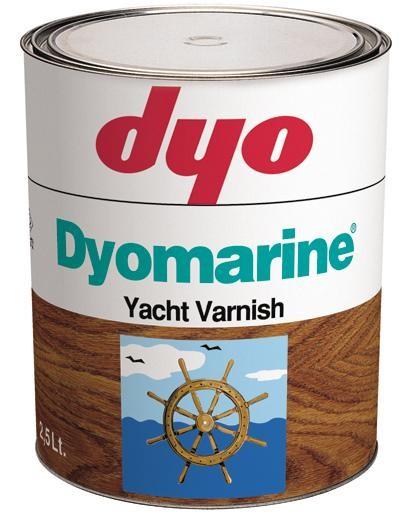 Dyo Dyomarine ( Яхтный лак ) 2,5л на 33-38 кв. м)глянцевый