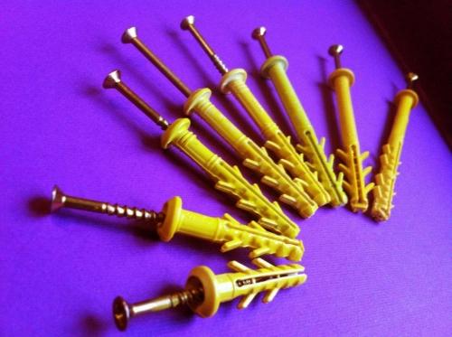 Дюбель быстрого монтажа гриб 6-ая серия от 6х35 до 6х100 mm 8 типоразмеров