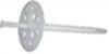 Дюбель для крепления термоизоляции с пластиковым гвоздем (цена за 100 шт. ) Размер 10 х 80