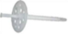 Дюбель для крепления термоизоляции с пластиковым гвоздем (цена за 100 шт. ) Размер 10 х 120