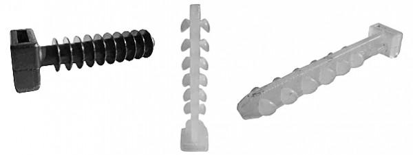Дюбель пластиковый 8х8 (упаковка 250 шт. )