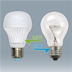 ECOLINE-R - источник света LED в форме лампочки Е27