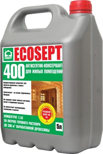 ECOSEPT 400 антисептик консервант для внутренних работ 1:10