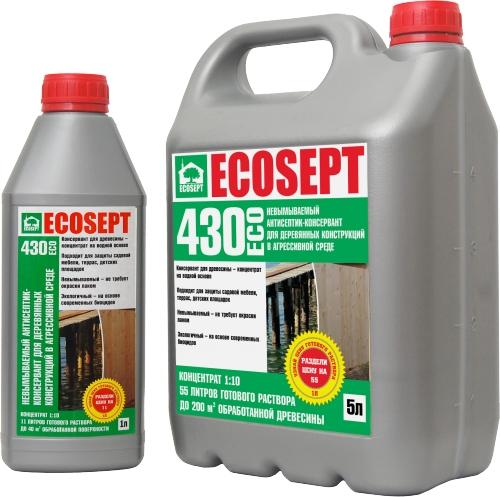 ECOSEPT 430 ECO невымываемый антисептик 1:10