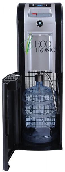 Ecotronic P8-LX Black напольный компрессорное охлаждение, нижняя загрузка бутыля