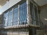 металлическая решетка на балкон