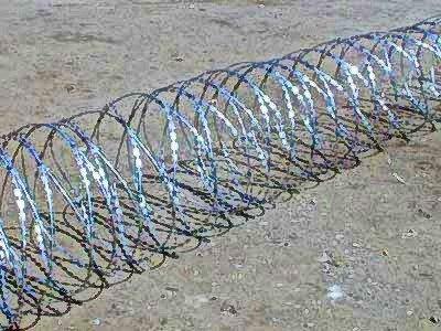 Фото  1 Егоза, спиральный барьер безопасности 600мм 3 скобы 1745726
