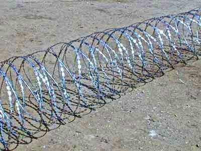 Егоза, спиральный барьер безопасности 600мм 5 скоб