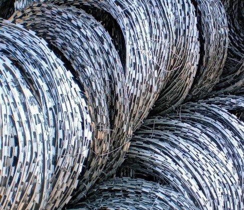 Фото  1 Егоза, спиральный барьер безопасности 900мм 3 скоб 1846752