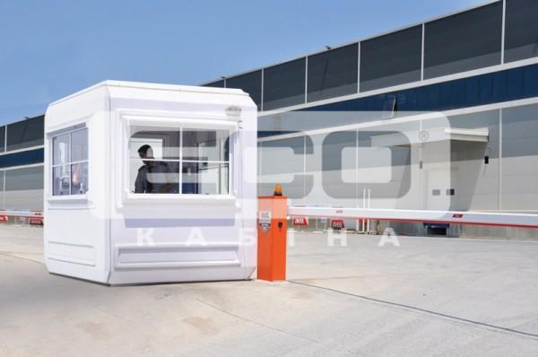 ЭКО кабина - блокпост охраны, помещение охраны, сторожка, бытовка, модульные кабины, мобильная www. ecokabina. com. ua