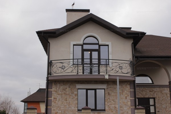 Эксклюзивные балконные ограждения. Индивидуальный дизайн, ручная ковка.