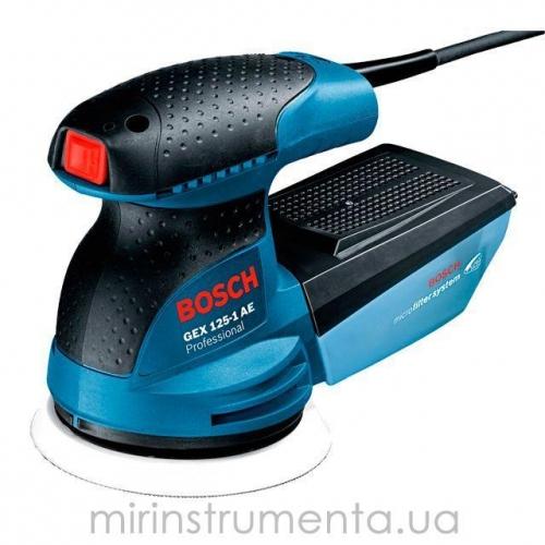 Эксцентриковая шлифмашинка Bosch GEX 125-1 + чем (0601387503)