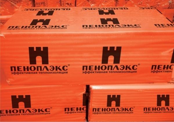 Экструдированный пенополистирол 1.2*0.6 толщ. 5 см ПЕНОПЛЕКС(Россия)