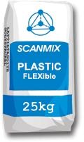 Эластичная клеящая смесь для укладки керамической плитки(клей для плитки) Scanmix PLASTIC FLEXible