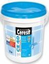 Эластичный водостойкий цветной шов до 5мм (Ceresit CE-40) белый 5кг.
