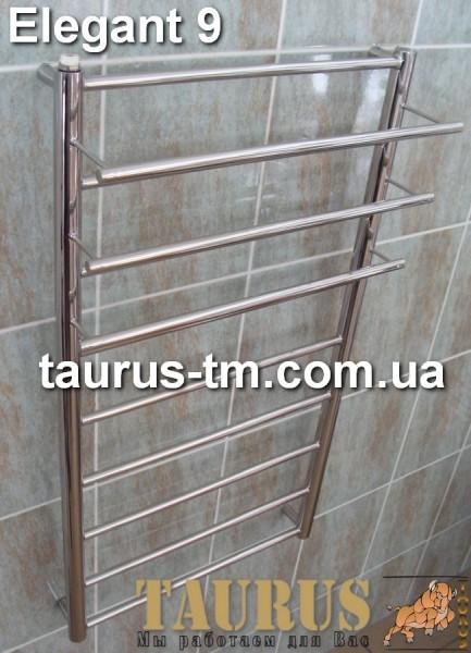 Elegant 9/500 - нержавеющий полотенцесушитель от ТМ TAURUS. Гарантия.