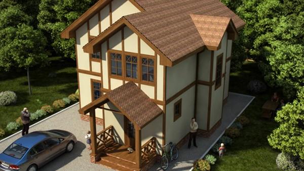 Элегантный дом, проект