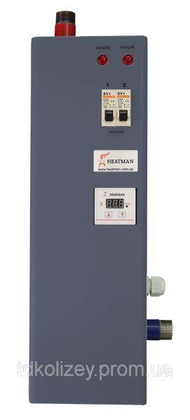 Фото  1 Электрический котел HEATMAN Light 15 кВт /220В без насоса 1818604