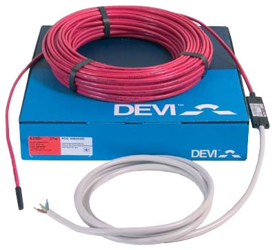 Электрический теплый пол Devi Нагревательный кабель двухжильный Devi Модель Deviflex DTIP-18 230 В. 29 м.п.
