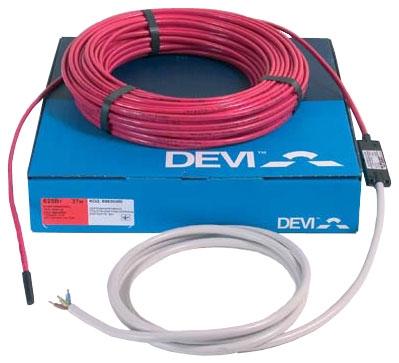 Электрический теплый пол Devi Нагревательный кабель двухжильный Devi Модель Deviflex DTIP-18 230 В. 37 м.п.