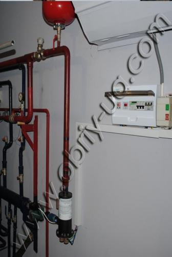 Электродный котел Обрій 21 кВт до 420 кв. м.