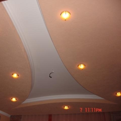 Электромонтажные работы в офисных помещениях любой сложности - лампы,подсветки,люстры,разное,материал.