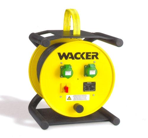 Электронный преобразователь частоты и напряжения с кабельным барабаном KTU 1/042/200W.