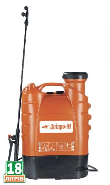 Електроопрыскиватель ДНІПРО-М SPE-18B Характеристики: объем бака: 18 л. ; Аккумулятор: 12V 8Ah. ; Вес нетто: 7 кг.