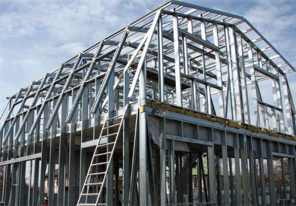 Элементы для быстровозводимых зданий (ЛСТК)